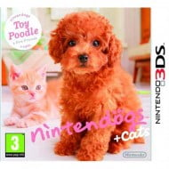 Nintendogs + Cats Toy Poodle And New Friends - Nintendo 3DS Game