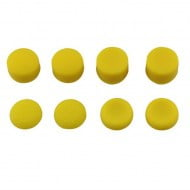 Analog Controller Thumb Stick Silicone Grip Cap Cover 8X Yellow Ornate