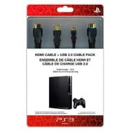 Cable Pack HDMI & Usb Charging Cable Original Sony - PS3 Console