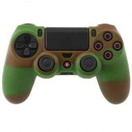 Silicone Case Multi Color Army Green / Coffee Κάλυμμα Σιλικόνης Χειριστηρίου - PS4 Controller