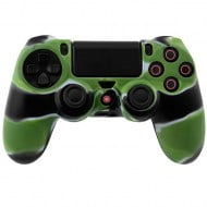 Silicone Case Multi Color Green / Black / White Κάλυμμα Σιλικόνης Χειριστηρίου - PS4 Controller