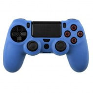 Silicone Case Skin Blue - PS4 Controller