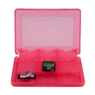 Game Card Case Holder Cartridge Box Red 28 σε 1 - Nintendo DS - 3DS