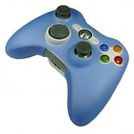 Silicone Case Skin Light Blue - Xbox 360 Controller