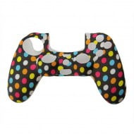 Silicone Case Skin Multicolor Dots - PS4 Controller