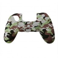 Silicone Case Skin Camouflage White / Brown / Green - PS4 Controller