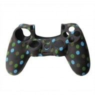 Silicone Case Skin Black Dots - PS4 Controller