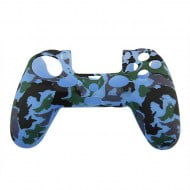 Silicone Case Skin Army Blue - PS4 Controller