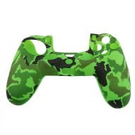 Silicone Case Skin Army Green - PS4 Controller