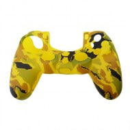 Silicone Case Skin Army Orange - PS4 Controller