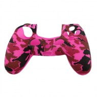 Silicone Case Skin Army Pink - PS4 Controller