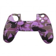 Silicone Case Skin Army Purple - PS4 Controller