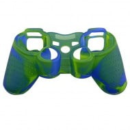 Silicone Case Skin Blue / Green - PS3 Controller