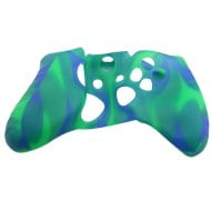 Silicone Case Skin Blue / Green - Xbox One Controller