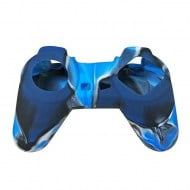 Silicone Case Skin Camouflage Blue - Playstation Classic Controller