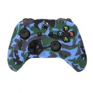 Silicone Case Skin Camouflage Blue - Xbox One Controller