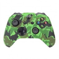 Silicone Case Skin Camouflage Dark Green - Xbox One Controller