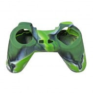 Silicone Case Skin Camouflage Green - Playstation Classic Controller