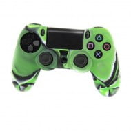 Silicone Case Skin Camouflage Green - PS4 Controller 2