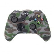 Silicone Case Skin Camouflage Grey - Xbox One Controller