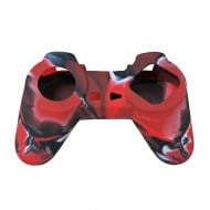 Silicone Case Skin Camouflage Red - Playstation Classic Controller