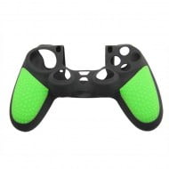 Silicone Case Skin Green & Black - PS4 Controller