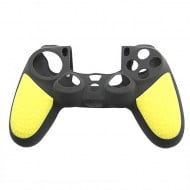 Silicone Case Skin Yellow & Black - PS4 Controller