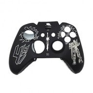 Silicone Case Skin Transformers Black / White - Xbox One Controller