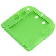 Silicone Grip Case Green - Nintendo 2DS Console