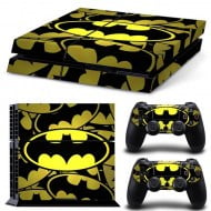 Sticker Skin Batman + 2 Controller Skin - PS4 Fat Console