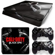 Sticker Skin Call Of Duty Black Ops - PS4 Slim Console