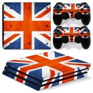 Sticker Skin English Flag - PS4 Pro Console
