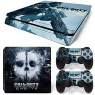 Sticker Skin Call Of Duty Black Ops 3 - PS4 Slim Console