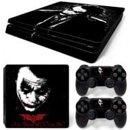 Sticker Skin Joker #2 - PS4 Slim Console