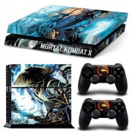 Sticker Skin Mortal Kombat - PS4 Fat Console