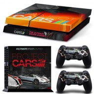 Sticker Skin Project Cars - PS4 Fat Console