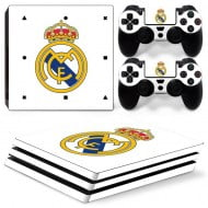 Sticker Skin Real Madrid - PS4 Pro Console