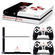 Sticker Skin Resident Evil - PS4 Fat Console