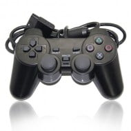Wired Gamepad Black - Playstation 2 Controller