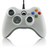 Wired Gamepad White - Xbox 360 Controller