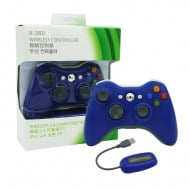 Wireless Gamepad Blue With Adapter - PC / Xbox 360 Controller