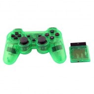Wireless Gamepad Crystal Green - Playstation 2 Controller